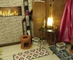 長崎県東彼杵郡波佐見町のよもぎ蒸しサロン「幸せのランプ」