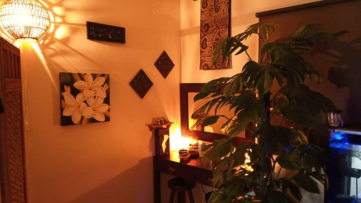 神奈川県横浜市の黄土よもぎ蒸しサロン「minaluna」